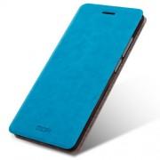 MOFI Rui Series Δερμάτινη Θήκη Βιβλίο με Βάση Στήριξης για Xiaomi Redmi 4 Prime / 4 Pro - Μπλε
