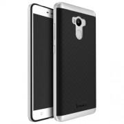IPAKY Υβριδική Θήκη Συδυασμού Σιλικόνης TPU και Πλαστικού για Xiaomi Redmi 4 Prime / 4 Pro / 4 - Ασημί