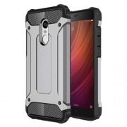 Tough Armor Υβριδική Θήκη Σιλικόνης TPU σε Συνδυαμό με Πλαστικό για Xiaomi Redmi Note 4X - Γκρι