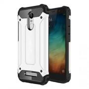 Tough Armor Υβριδική Θήκη Σιλικόνης TPU σε Συνδυαμό με Πλαστικό για Xiaomi Redmi Note 3 / Note 3 Pro - Λευκό