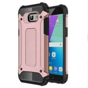 Armor Guard Plastic + TPU Hybrid Case Accessory for Samsung Galaxy A5 (2017) - Rose Gold