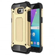 Armor Guard Plastic + TPU Hybrid Shell Cover Case for Samsung Galaxy A5 (2017) - Gold