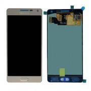 Γνήσια Samsung Οθόνη LCD και Μηχανισμός Αφής για Samsung Galaxy A5 SM-A500F - Χρυσαφί (GH97-16679F)