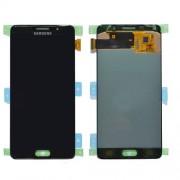 Γνήσια Samsung Οθόνη LCD και Μηχανισμός Αφής για Samsung Galaxy A5 (2016) SM-A510 - Μαύρο (GH97-18250B)
