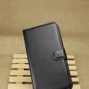 Δερμάτινη Θήκη Πορτοφόλι με Βάση Στήριξης για Samsung Galaxy Note 3 Lite N750 / Neo N7505 - Μαύρο