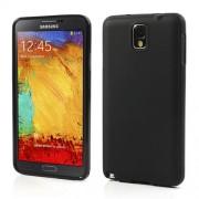 Θήκη Σιλικόνης TPU Ματ για Samsung Galaxy Note 3 N9005 - Μαύρο