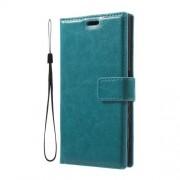 Δερμάτινη Θήκη Πορτοφόλι με Βάση Στήριξης για Sony Xperia XZs / XZ - Μπλε