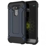 Tough Armor Υβριδική Θήκη Σιλικόνης TPU σε Συνδυαμό με Πλαστικό για LG G5 - Σκούρο Μπλε