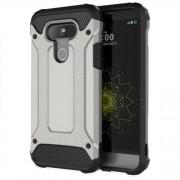 Tough Armor Υβριδική Θήκη Σιλικόνης TPU σε Συνδυαμό με Πλαστικό για LG G5 - Γκρι