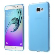 Θήκη Σιλικόνης TPU Ματ με Ημιδιάφανα Άκρα για Samsung Galaxy A7 (2016) SM-A710F - Μπλε