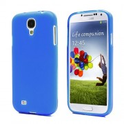 Frosted TPU Case Cover for Samsung Galaxy S4 IV i9500 i9502 i9505 - Dark Blue