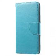 Δερμάτινη Θήκη Πορτοφόλι με Βάση Στήριξης για iPhone 6 6s - Μπλε