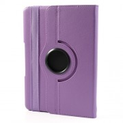 For Samsung Galaxy Note 10.1 (2014 Edition) SM-P600 Protective Litchi Leather Case w/ 360 Rotary Stand - Purple