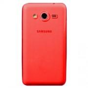 Θήκη Σιλικόνης TPU Πολύ Λεπτή 0.6mm για Samsung Galaxy Core 2 G355H - Κόκκινο