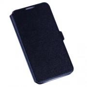 Δερμάτινη Θήκη Πορτοφόλι με Βάση Στήριξης για Samsung Galaxy S4 I9502 - Μαύρο