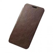 Δερμάτινη Θήκη Βιβλίο Λεπτή για Samsung Galaxy A5 SM-A500F - Καφέ