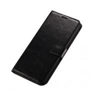 Δερμάτινη Θήκη Πορτοφόλι με Βάση Στήριξης για LG V10 - Μαύρο