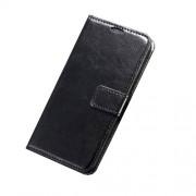 Δερμάτινη Θήκη Πορτοφόλι με Βάση Στήριξης για Samsung Galaxy S6 G920 - Μαύρο
