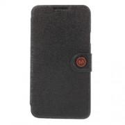 MLT Δερμάτινη Θήκη Πορτοφόλι με Βάση Στήριξης για Samsung Galaxy Note 3 Neo N750 N7502 N7505 - Μαύρο
