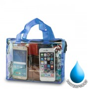Waterproof Bag for Smartphones 19x26cm - Blue