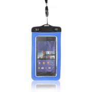 Waterproof Case for Smartphones 3,5 - 4,5'' 155x105mm - Blue