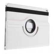 Litchi Texture Rotary Stand Leather Case Cover for iPad Pro 9.7-inch - White