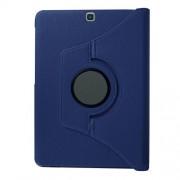 Περιστρεφόμενη Θήκη Βιβλίο με Βάση Στήριξης για Samsung Galaxy Tab S2 9.7 T810 T815 - Σκούρο Μπλε