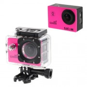 OEM SJCAM SJ4000 12MP 1080P Full HD 1,5-inch Waterproof Sports DV Camera WiFi - Rose
