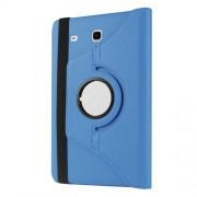 Περιστρεφόμενη Δερμάτινη Θήκη Βιβλίο με Βάση Στήριξης για Samsung Galaxy Tab A 7.0 T280 T285 - Γαλάζιο