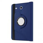 Περιστρεφόμενη Δερμάτινη Θήκη Βιβλίο με Βάση Στήριξης για Samsung Galaxy Tab A 7.0 T280 T285 - Σκούρο Μπλε