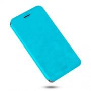 MOFI Rui Series Δερμάτινη Θήκη Βιβλίο με Βάση Στήριξης για Xiaomi Redmi Note 4 - Μπλε