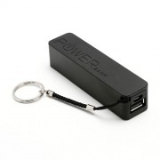 2600mAh KABO Fragrance Mobile Power Bank External Battery Charger for iPhone iPod Samsung HTC LG Sony - Black