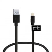 Havit 8 Pin Lightning USB Charging Cable Cord for iPhone 5 mfi 1 m - Black