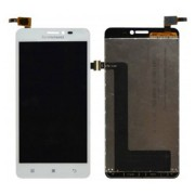 Original LCD Screen and Digitiger for Lenovo A1000 - White