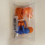 Manhattan Στερεοφωνικά Ακουστικά με Μικρόφωνο (178983) - Μπλε/Πορτοκαλί