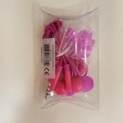 Manhattan Στερεοφωνικά Ακουστικά με Μικρόφωνο (178983) - Ροζ/Φούξια