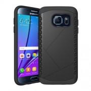 Θήκη Σιλικόνης TPU σε Συνδυασμό με Πλαστικό για Samsung Galaxy S7 G930 - Μαύρο