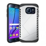 Θήκη Σιλικόνης TPU σε Συνδυασμό με Πλαστικό για Samsung Galaxy S7 G930 - Ασημί