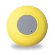 UT15 Αδιάβροχο Ηχείο Bluetooth με Μικρόφωνο και με Βεντούζα - Κίτρινο