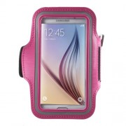 Θήκη Βραχίονα για Σπορ για Samsung Galaxy S7 G930 / S6 G920 / S6 Edge G925 - Φούξια