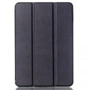 Δερμάτινη Θήκη Βιβλίο Tri-Fold με Βάση Στήριξης για  Galaxy Tab S2 8.0 T715 T710 - Μαύρο