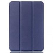 Δερμάτινη Θήκη Βιβλίο Tri-Fold με Βάση Στήριξης για  Galaxy Tab S2 8.0 T715 T710 - Μπλε