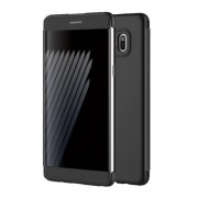 ROCK Invisible View PC TPU Flip Smart Case for Samsung Galaxy Note7 N930 - Black