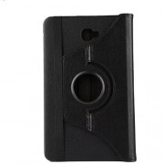 Litchi Texture Rotary Stand Leather Case for Samsung Galaxy Tab A 10.1 (2016) T580 T585 - Black