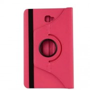 Litchi Texture Rotary Stand Leather Shell for Samsung Galaxy Tab A 10.1 (2016) T580 T585 - Rose