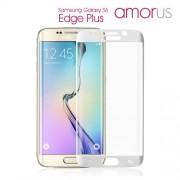 AMORUS Σκληρυμένο Γυαλί (Tempered Glass) Προστασίας Οθόνης (Καλύπτει τις Καμπυλώσεις) για Samsung Galaxy S6 Edge Plus G928 - Λευκό