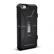 UAG Hard Trooper Card Case for iPhone 6 / 6s - Black