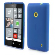 Dark Blue for Nokia Lumia 520 525 Frosted Soft TPU Gel Cover