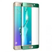 FEMA Σκληρυμένο Γυαλί (Tempered Glass) Προστασίας Οθόνης Πλήρης Κάλυψης για Samsung Galaxy S6 Edge G925 - Πράσινο