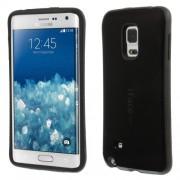 IFACE Υβριδική Θήκη Συνδυασμού Πλαστικού και Συλικόνης TPU για Samsung Galaxy Note Edge SM-N915 - Μαύρο